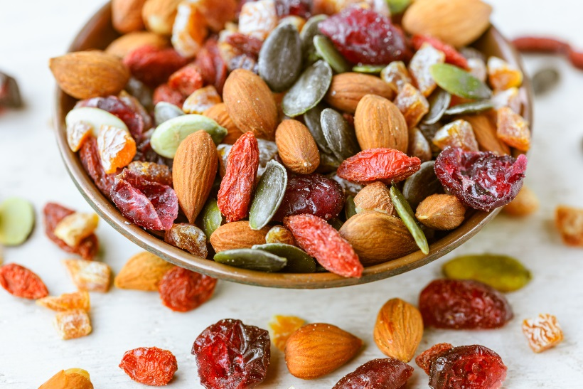 פירות יבשים אורח חיים בריא
